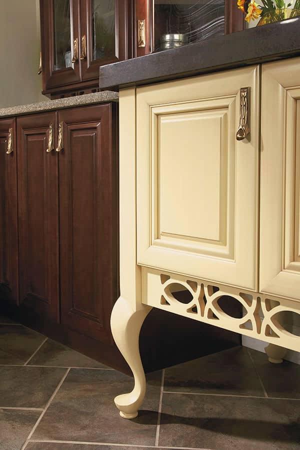 golden age large queen anne cabinet leg