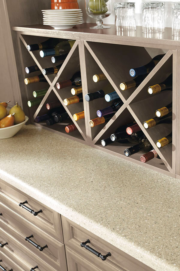 wall wine storage cabinet
