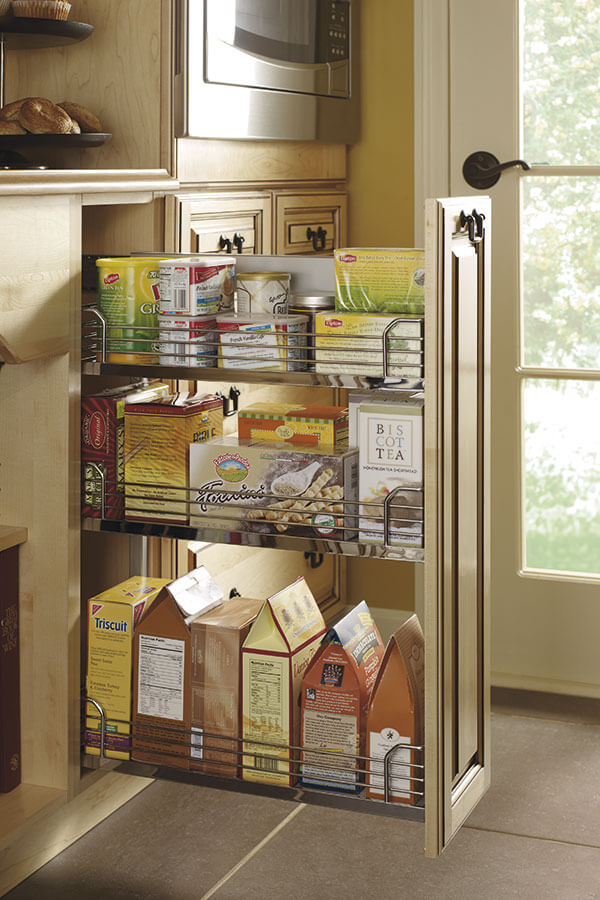 base pantry pull out cabinet