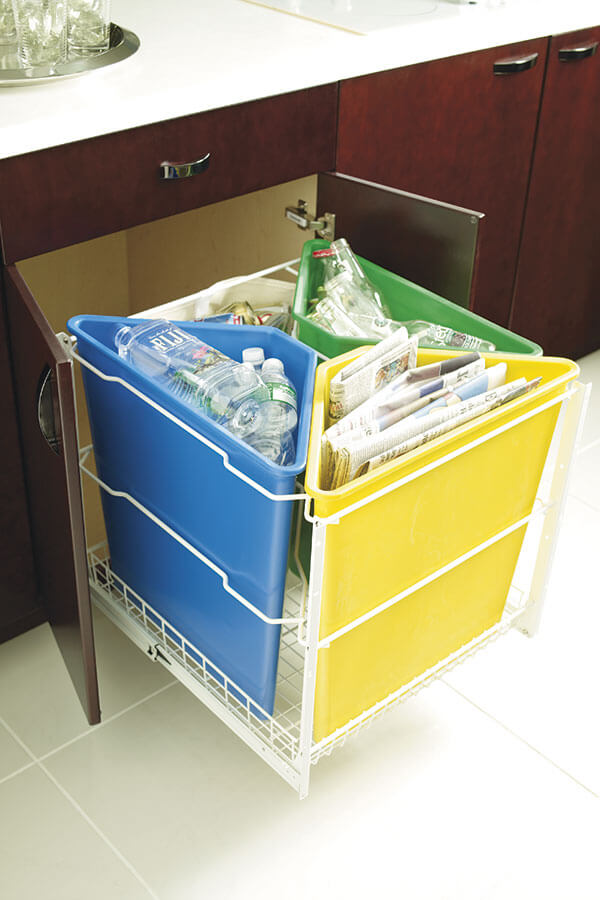 base recycling center cabinet