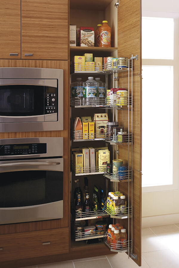 tall pantry pull out tandem cabinet - KCC Toronto