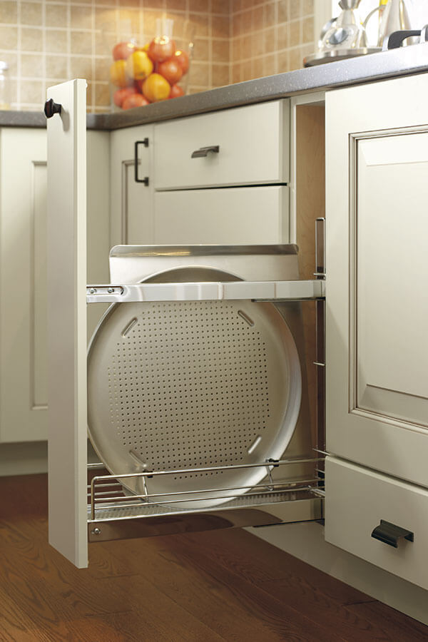 base pull out tray divider cabinet